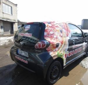 Automobilio apklijavimas