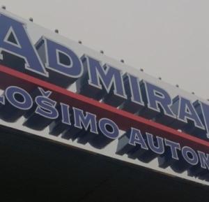 Reklamos gamyba - Turines Admiral