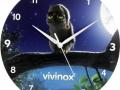 Įvairių formų ir dydžių sieniniai laikrodžiai iš PVC Nr.516.