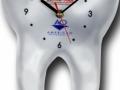Įvairių formų ir dydžių sieniniai laikrodžiai iš PVC Nr.516,