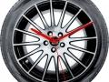 vairių formų ir dydžių sieniniai laikrodžiai iš PVC  Nr.516